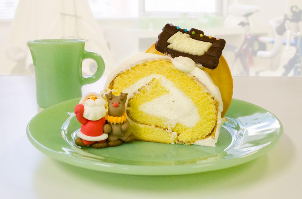 「cafe Schale おおまち」のクリスマスケーキ