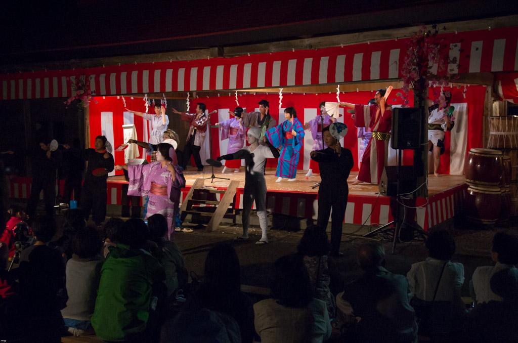 荒雄川神社祭典「演芸の夕べ」フィナーレ