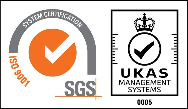 ISO 9001認証マークの画像